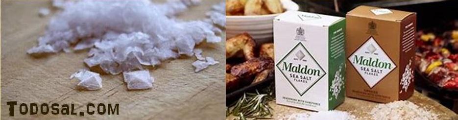 Sal-maldon sal de escamas