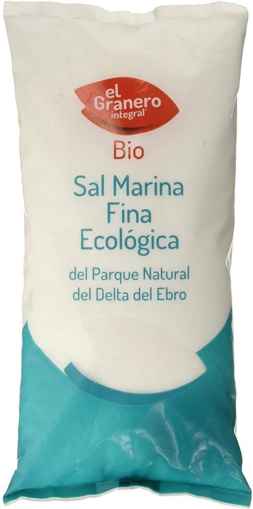 Sal marina fina ecológica del Delta del Ebro