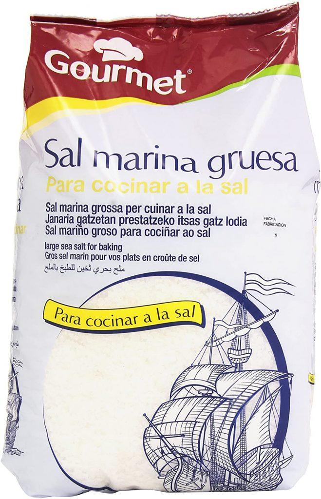 Sal marina gruesa ecologica del Delta del Ebro